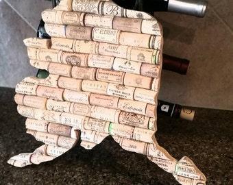 ALASKA wine cork state - trivet - home decor -