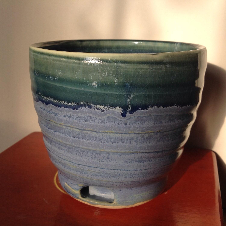 arrow spiral pot handmade