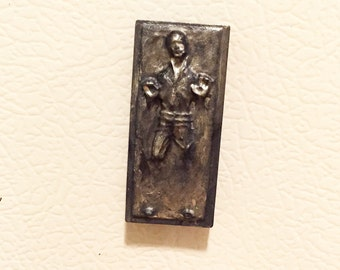 Star Wars Han Solo carbonite magnet (small)