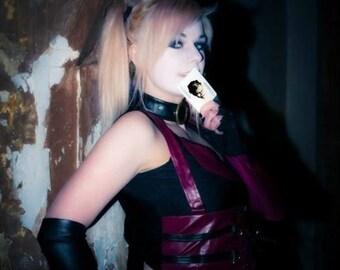 Arkham city Harley cosplay print