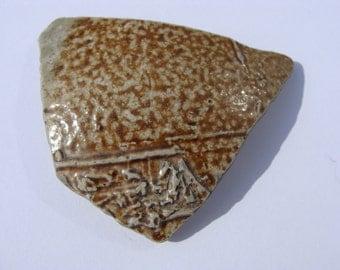English Sea Pottery Part Bellermine Jug - Artifact..