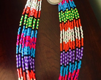 lightweight, multicolored necklace