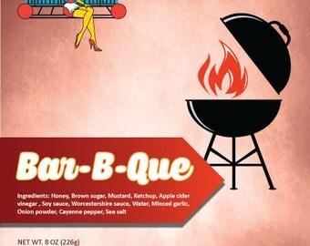 Items Similar To Bbq Modern Gingham Bar B Que Invitation