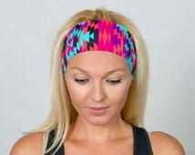Running Headband Workout Headband Fitness Headband Yoga Headband Gym Gear Boho Headband Fashion Headband Women Head Wrap Turban Headband