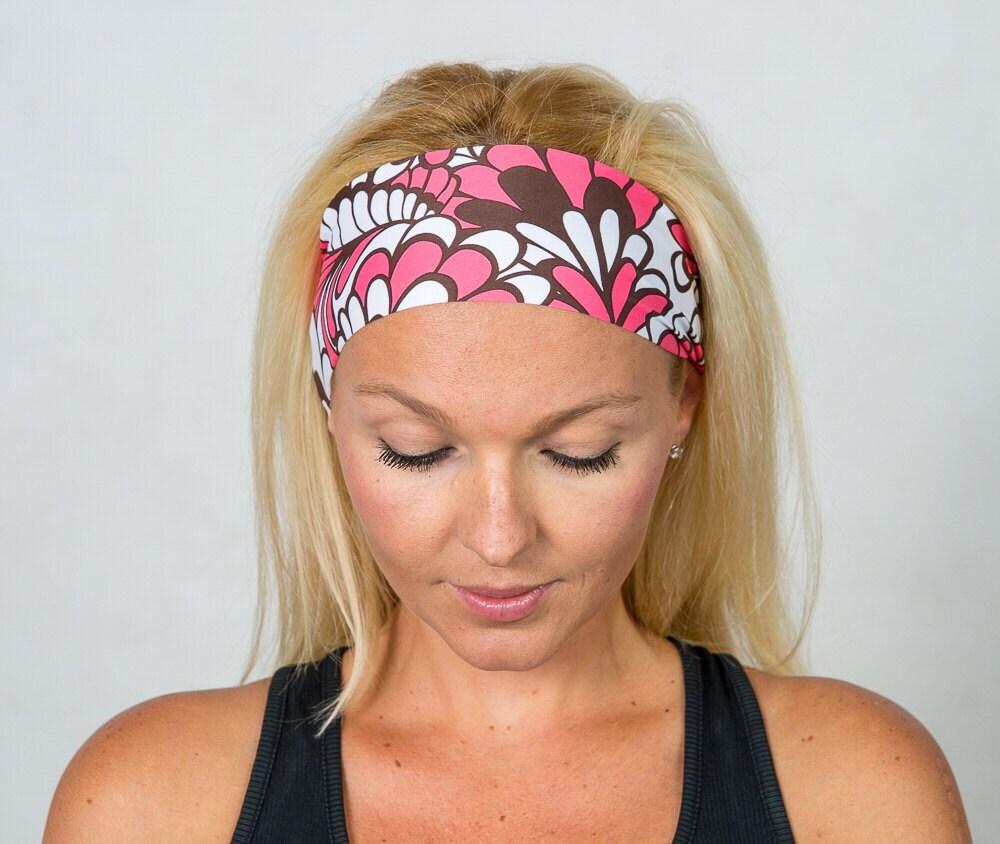 Fashion Headbands: Wide Fashion Headband Fitness Headband Bohemian Headband Yoga