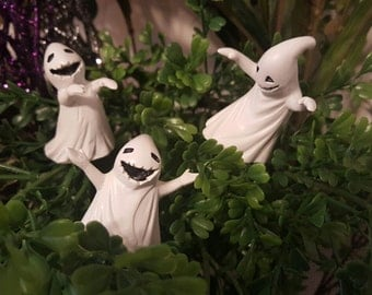 Miniature Ghosts!  Set of 3