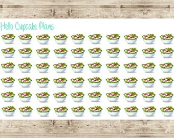 Eat Healthy/ Salad Planner Stickers