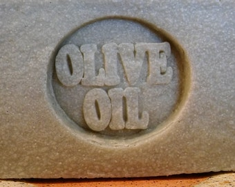 OLIVE OIL SOAP - 72% with French Green Clay (unscented)