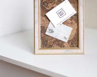 Upcycled Cork Frame