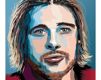 Colorful Digital Portrait