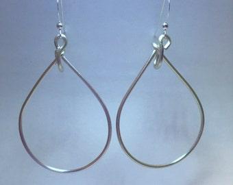 Interchangeable Teardrop Dangle Earring