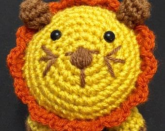 Crochet Lion, Crocheted Lion, Lion Amigurumi, Safari Animal
