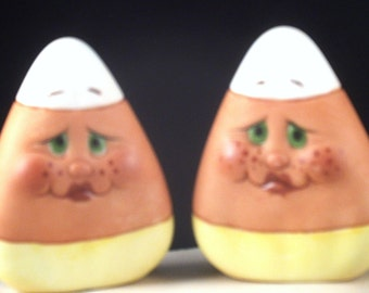 """Halloween """"Candy Corn"""" Ornaments from the """"Expressions"""" Collection by NancySharon"""