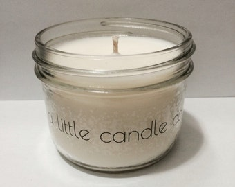 Free shipping! 8 oz Campfire Hand made / hand poured natural soy candle, phthalate free fragrance oil & ecosoya wax.