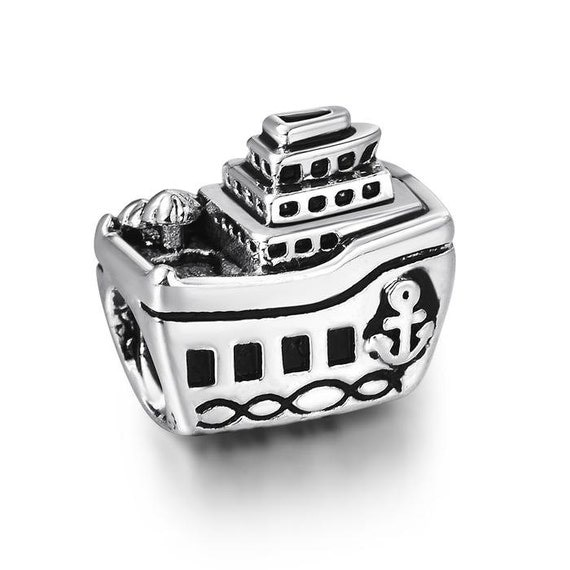 Cruise Ship Charm S925 For European Bracelet Compatible With