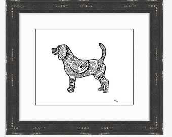 Beagle Silhoutte