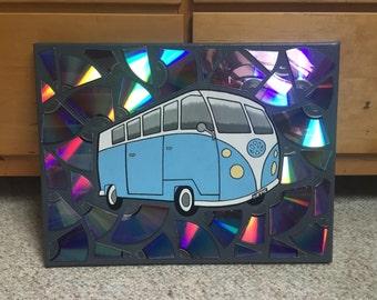 Volkswagen Hippie Van Painting