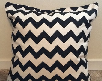 Chevron Print Throw Pillow