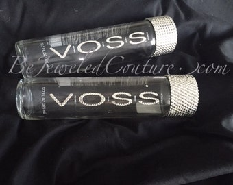 VOSS Water Bottle Embellished in Swarovski Crystals