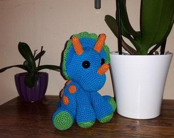 Tripi triceratops crochet - Amigurumi
