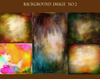 5 Digital Art Background  No2,Instant Download ,texture