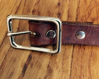 Toddler Leather Belt