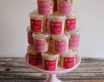 Edible Cookie Dough Pink Party Package / Dessert Table / Sweet Treat / Wedding Favour / Chocolate Chip / Baby Shower / Oreo / Party favours