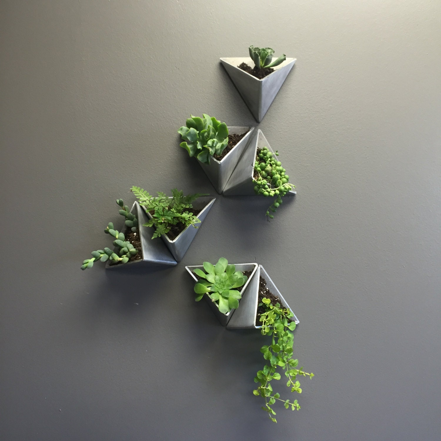 Tessellations Modern Wall Planter By MethodMfg On Etsy