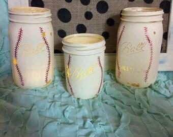 Vintage Baseball Jars