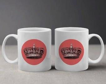 Cool and Stylish Coral Crown Design Mug M032