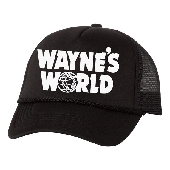 Wayne's World Wayne Campbell Garth Shwing Cosplay Trucker Foam Mesh Party Hat
