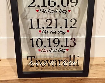 Valentine's Day Gift - Anniversary Wall Decor
