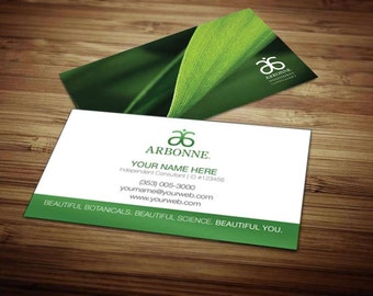 Arbonne Business Card Design 5