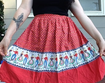 Western Pinup Apron