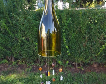 Glass wind chime #8