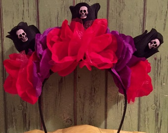 Day of the Dead flower crown