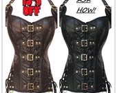 Buckle up Steampunk corset