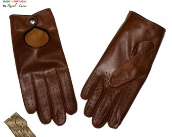 Men Leather Gloves (H212014)