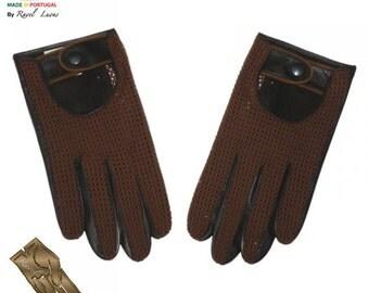 Men Leather Gloves (H202014)