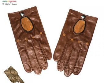 Men Leather Gloves (H192014)