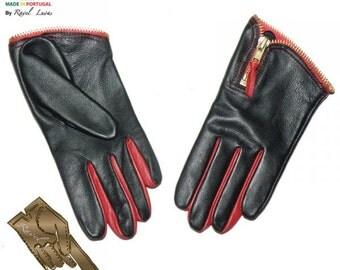 Ladies Leather Gloves (S812013)