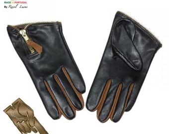 Ladies Leather Gloves (S822013)