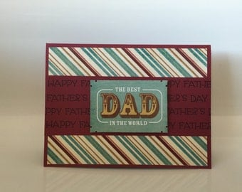 Father's Day Card, Happy Father's Day Card