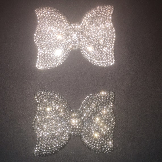 52 40mm Bling Resin Bow For Decoration From Hollihoodobjects On Etsy Studio