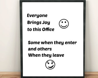 Bring Joy to the Office