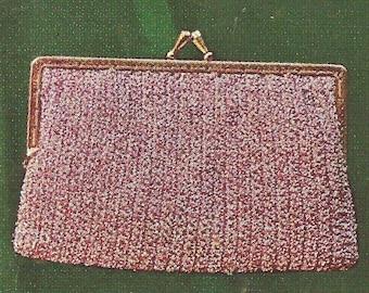 Vintage Crochet Clutch Pattern