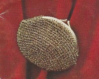 Vintage crochet coin purse