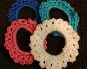 Basic Flower Hair Ties