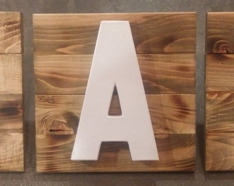 "Rustic Chic ""EAT"" Sign"