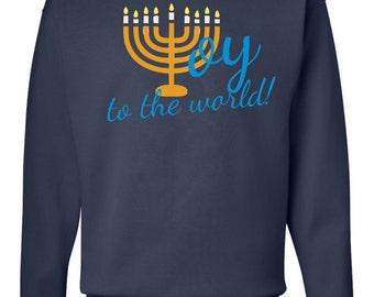 Hanuakkah Oy to the World sweatshirt